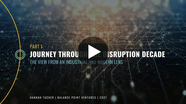 Journey through the Disruption Decade on Vimeo