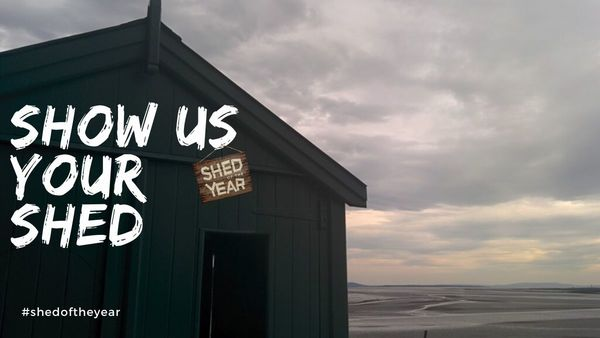 Dylan Thomas's Writing Shed (photo @unclewilco) - Show us your shed