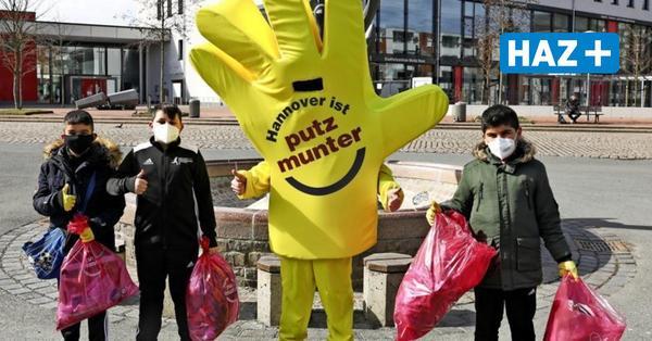 """Freiwillige sammeln bei """"Hannover putzmunter"""" wilden Müll"""