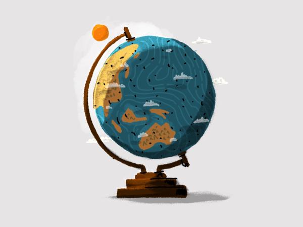 Globe - http://kendrickkidd.dribbble.com/