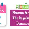 Pharma Sector Analysis: The Regulatory Framework – Week 2