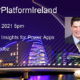 📅 Power Platform Ireland - App Insights for Power Apps