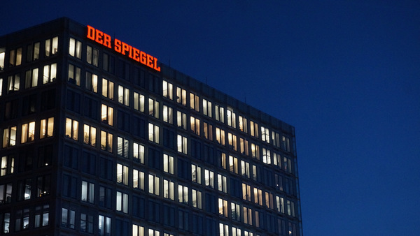 Siège du Spiegel à Hambourg (AD)