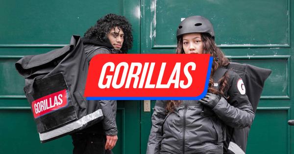 En daar was ineens Gorillas in Nederland