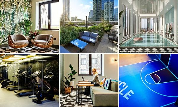 Millennials are moving to apartment buildings 'all in one' gyms, shops and gardens