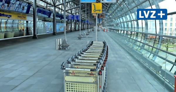 Die Ruhe vor dem Abflug: Flughafen Leipzig-Halle nimmt Kurs auf den Süden