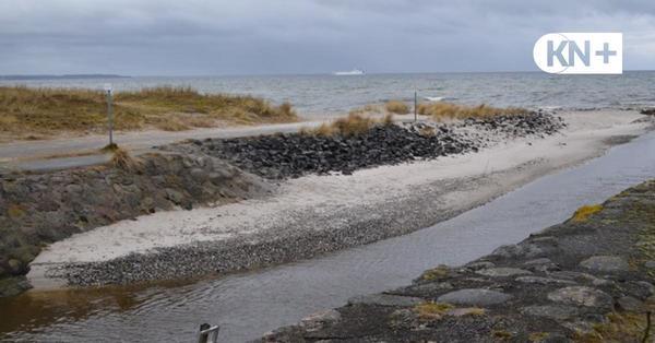 Wendtorf: Küstenschutzarbeiten an der Schleuse sollen bis Oktober dauern