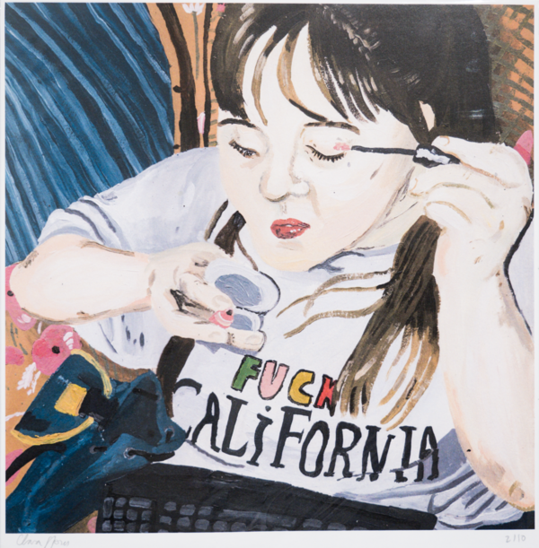 Fuck California. Print de Clara S. Prous (próximamente en la web)