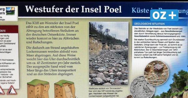 Zwischen Poel und Rostock: Das bietet der Geogefahren-Lehrpfad