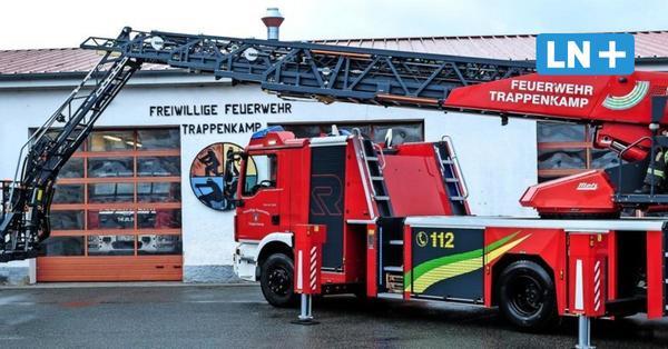 Drehleiter für Feuerwehr Trappenkamp: Segeberg noch besser versorgt