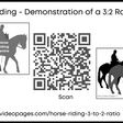 Horse Riding 3 to 2 Ratio – Mini Video Pages