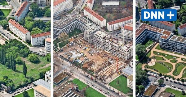 DNN-Serie Dresden von oben: Herzogin Garten in der Wildsrufer Vorstadt