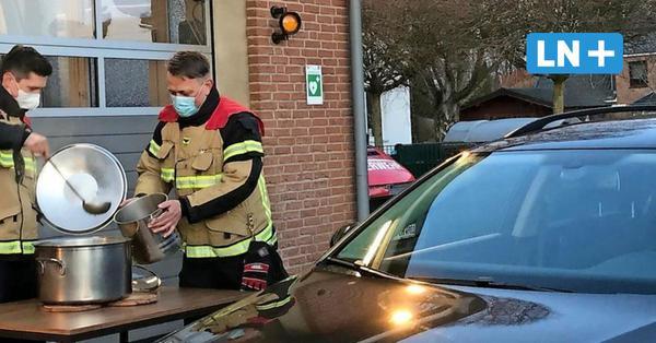 Statt Party: Stellvertretender Wehrführer lädt zum Drive-in mit Erbsensuppe