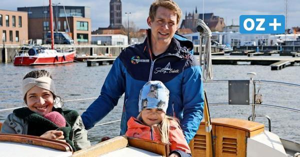 Baby an Bord: Schweriner Paar verbringt Elternzeit auf der Ostsee
