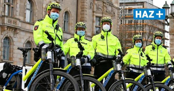 Hannovers Polizei fährt jetzt auch per Pedelec auf Streife