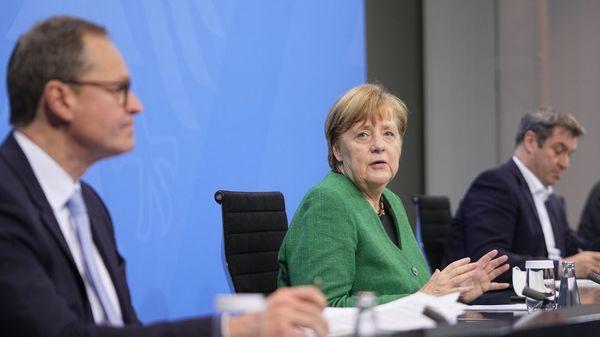 """""""Wir haben heute noch einmal neu gedacht"""": Merkel verkündet radikalen Lockdown über Ostern"""