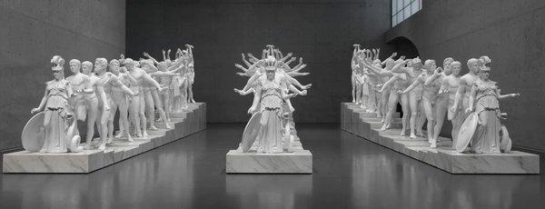 Xu Zhen – European Thousand-Arms Classical Sculpture, Long Museum, Shanghai