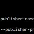 Error: Required argument publisher-name/publisher-prefix is missing - Debajit's Blog