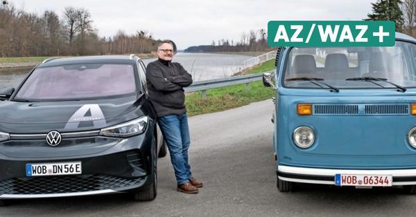 VW-Hoffnungsträger im Vergleich: Elektro-Bulli von 1979 gegen nagelneuen ID.4
