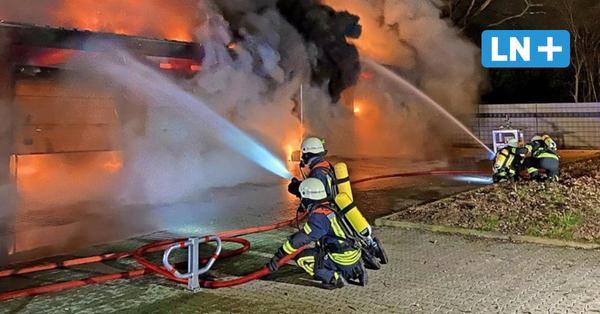 Oldtimer gingen in Rauch auf: Feuer vernichtet in Barsbüttel enorme Werte