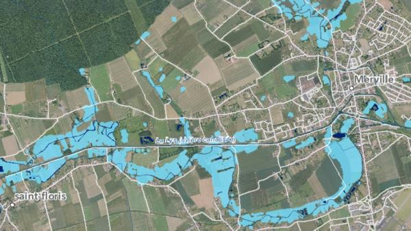 Flandre-Lys : comment les images satellites peuvent nous protéger des inondations - Satellietbeelden kunnen overstromingsgevaar voorspellen