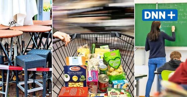 Einkaufen, Schulen, Kontakte: Sachsens neue Corona-Regeln lassen vieles noch offen