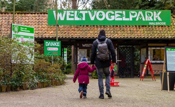 Am 21. März ist der Weltvogelpark in die Saison gestartet. (Foto: Philipp Schulze/dpa)