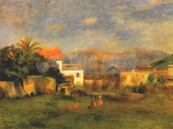 Pierre-Auguste Renoir, View of Cagnes, circa 1900.