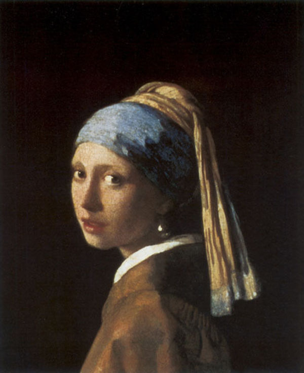 Girl with a Pearl Earring, Johannes Vermeer, 1665.