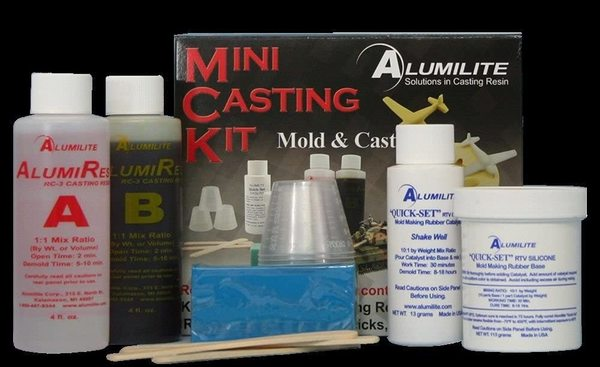 A casting kit is an inexpensive way to get started.