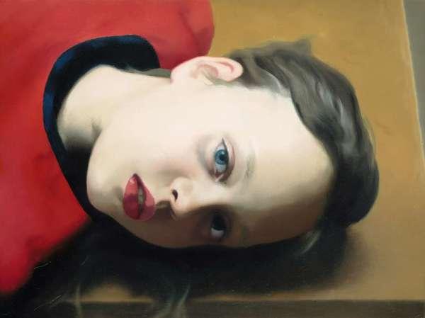 Gerhard Richter - Betty, oil on canvas, 1977