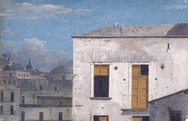 Thomas Jones : 'Buildings in Naples': 1782 : Cardiff, National Museum of Wales