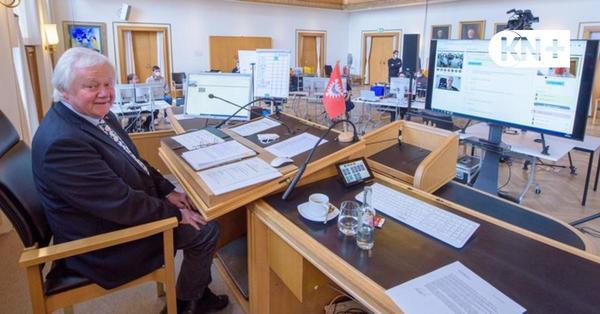 Erste digitale Sitzung: Die Kieler Ratsversammlung ruckelt
