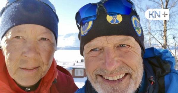 Abenteuer Polarkreis: Die Stübens aus Kosel kämpfen sich durch Eis und Schnee