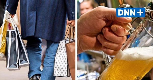 Drei Tage Shoppen und Gastronomie nach Corona-Test: Modellprojekte in Sachsen starten