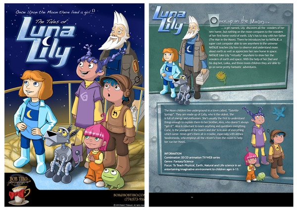 LUNA LILY TV Show concept.