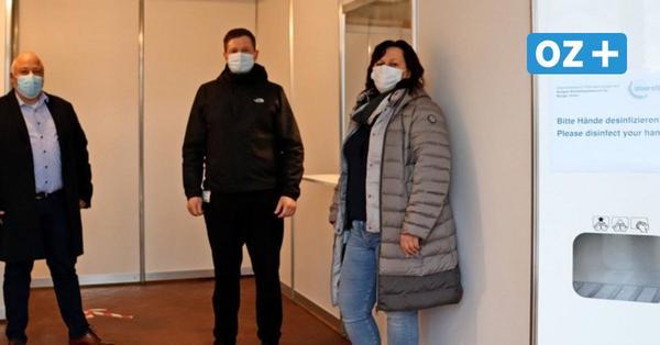Greifswald: Kostenlose Schnelltests im Fünf-Minuten-Takt