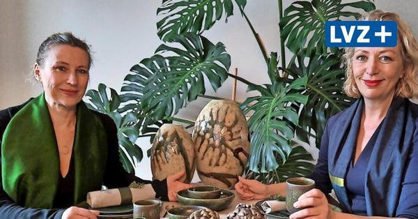 Mode trifft Keramik: Leipziger Künstler kreieren einen Paradiesgarten