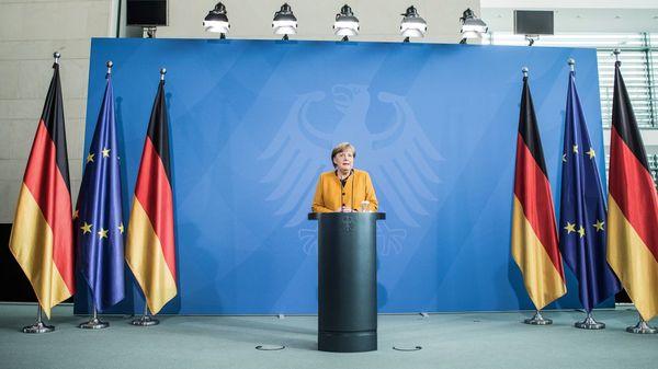 """""""Trage die letzte Verantwortung"""" – Das historische Merkel-Statement im Wortlaut"""