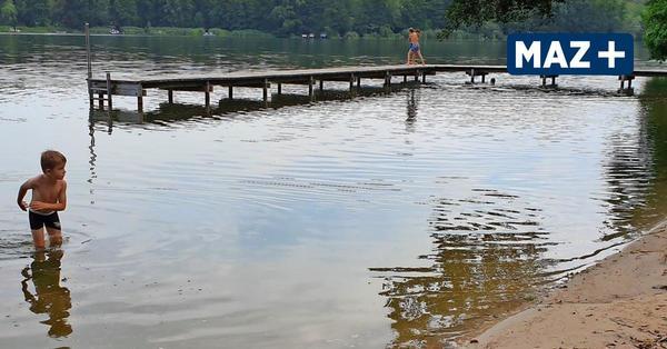 Lebensgefahr: Kloster Lehnin muss Badestege dicht machen