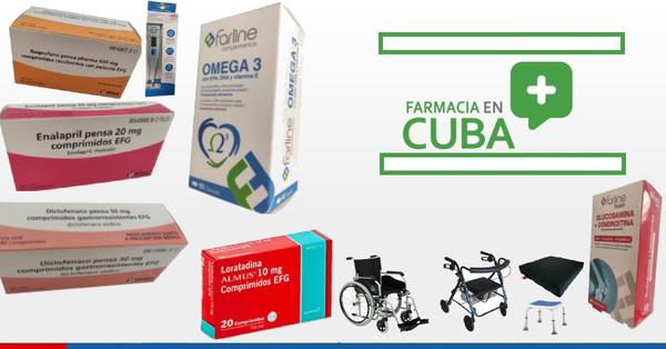 Aquí puedes comprar y enviar medicamentos a tu familia en Cuba desde cualquier parte del mundo