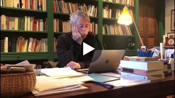 FINISH! Alessandro Baricco reads Sappho - Ancient Greece