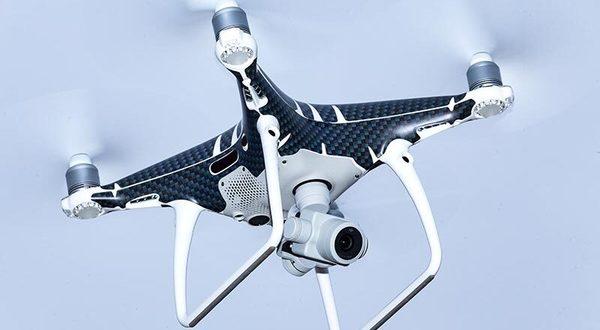 Drohne im Einsatz. Foto: Schumann/foto4press.com