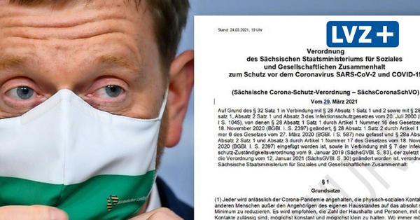 Neue Corona-Regeln in Sachsen: Das steht in der Vorlage der Landesregierung