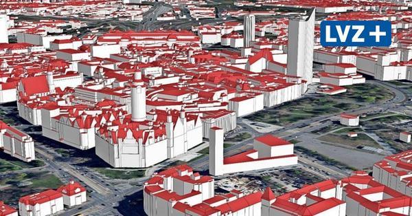 Leipzig wächst am Bildschirm in die dritte Dimension