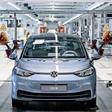 VW-Zwerk Zwickau fertigt erstmals 1000 E-Autos am Tag