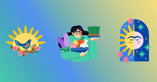 Instagram's Persian New Year stickers