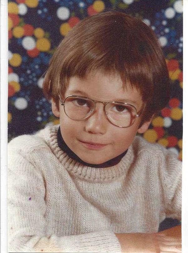 Antoine vers l'âge de 5 ans