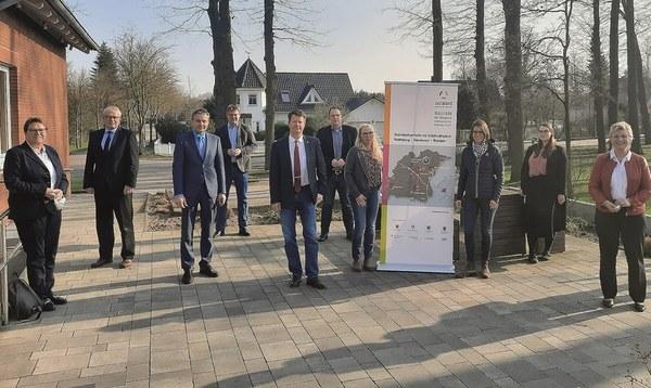 Zehn Jahre Deltaland: Wirtschaftsförderung nun im Quadrat - Heidekreis - Walsroder Zeitung