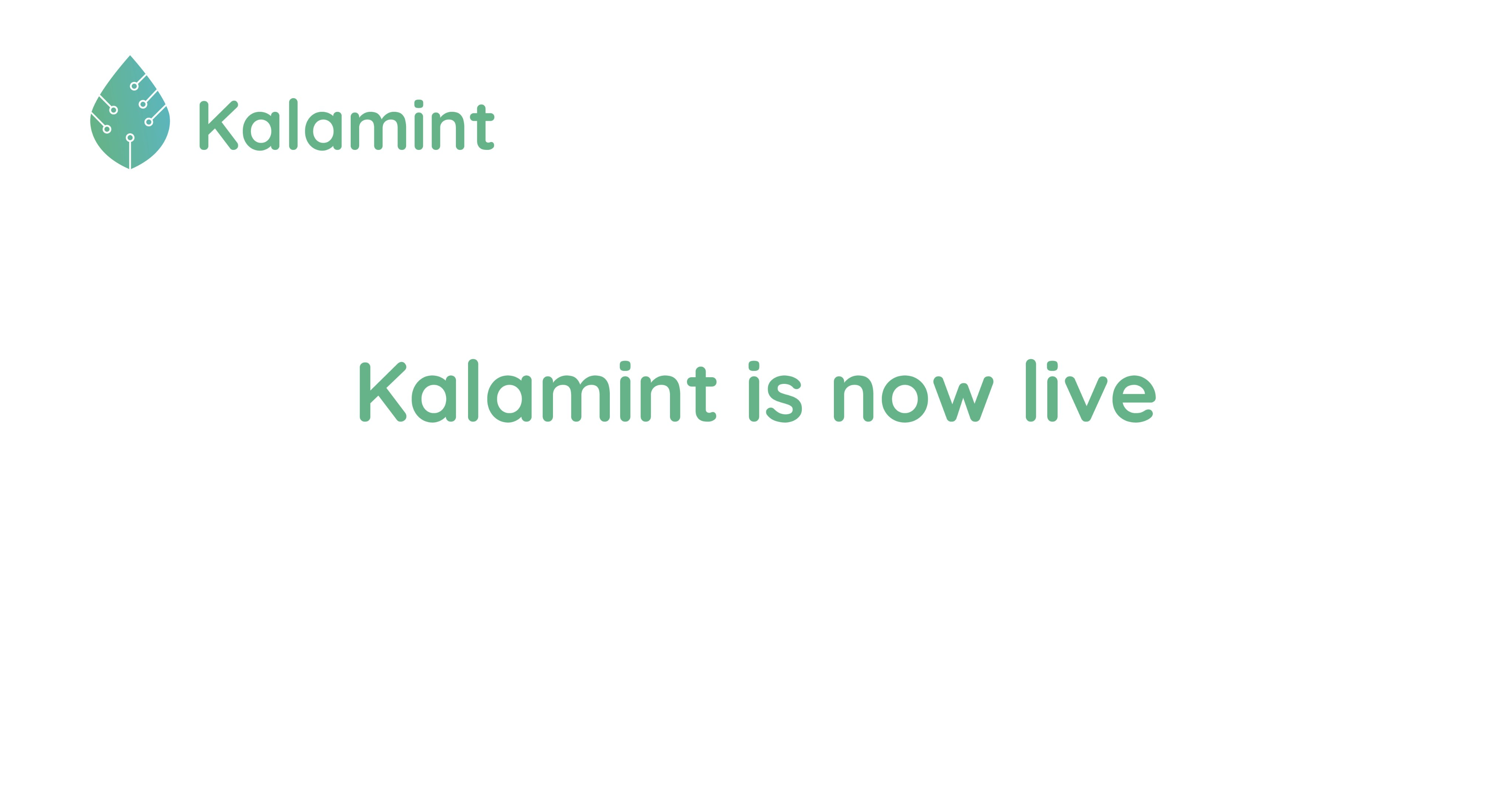 NFT Marketplace, Kalamint.io, officially went live!